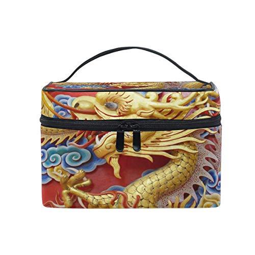 Trousse de toilette de voyage rétro Motif dragon chinois