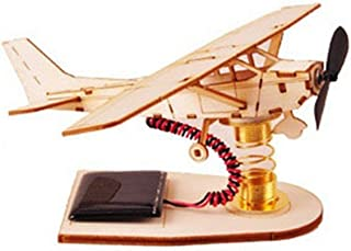 Young Modeler YOUNGMODELER Desktop Wooden Assembly Model Kits. (Solar Light Airplane)
