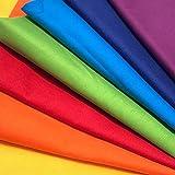 Regenbogen Muster-Mix 7 x 0,5m 100% Baumwolle Stoffbreite