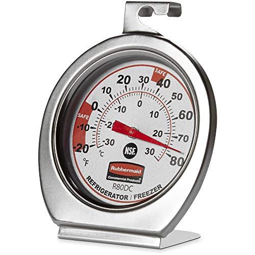 Rubbermaid Refrigerator/ Freezer Thermometer