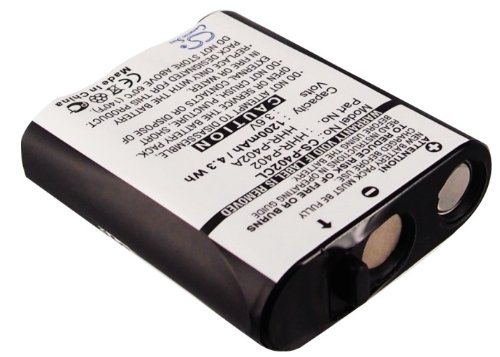 GAXI Battery Replacement for GE TL-26400, 1200mAh Cordless Phone Battery