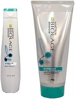MATRIX By fbb Advanced Scalppure Dandruff Shampoo (400 ml) and Matrix Biolage Advanced Scalppure Conditioner (98 g) - Pack of 2