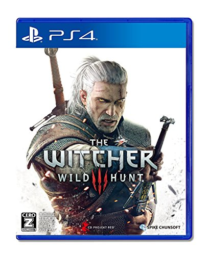spike chunsoft The Witcher 3 Wild Hunt (PS4) Japanese PS4