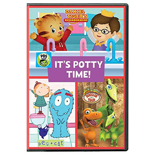 PBS KIDS: It's Potty Time 2017 DVD