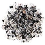ブラック ルチルクォーツ 黒針水晶 さざれ石 100g 天然石 パワーストーン 浄化グッズ