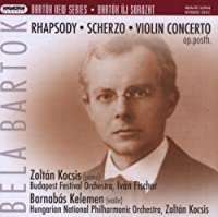 Bartok New Series: Rhapsody S by BELA BARTOK (2007-11-27)