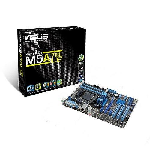 Asus M5A78L LE Mainboard SocketAM3+ (ATX 760G/780L, 4X DDR3 Speicher, 4X USB 2.0)
