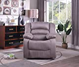 NHI Express Addison Microfiber recliner, Gray color,