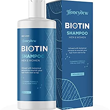 Biotin Hair Shampoo for Thinning Hair - Volumizing Biotin Shampoo for Men and Womens Hair Moisturizer - Sulfate Free Shampoo with Biotin and Moisturizing Shampoo for Dry Hair over 95% Natural Derived