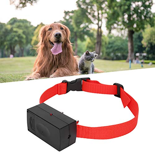 Collar de descarga eléctrica para mascotas, Collar de perro anti ladridos, Batería de plástico de alta tecnología para exteriores Tapón de descarga eléctrica para mascotas Collar de perro anti...