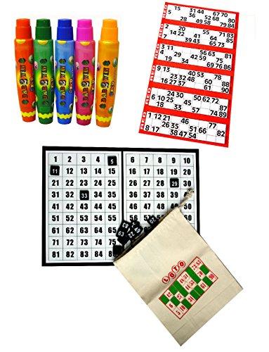 Bingo Starter Kit with Board & Discs - All you need to play Bingo