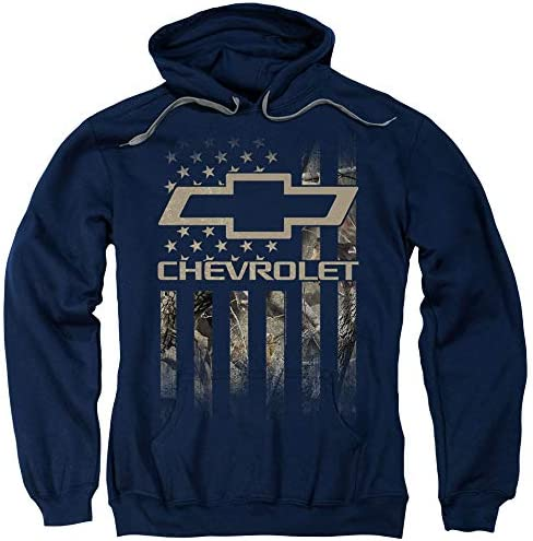 Chevrolet Camo Flag Unisex Adult Pull Over Hoodie for Men and Women X Large product image