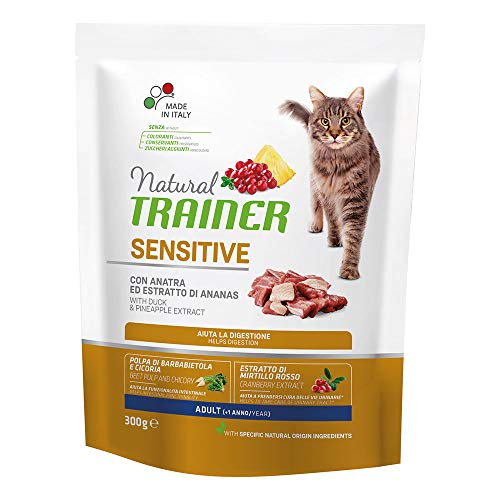 Trainer Natural 300gr Sensitive Katze mit Ente und Ananas Extrakt