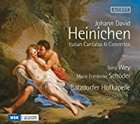 Heinichen: Italian Cantatas & Concertos by Terry Wey [alto]
