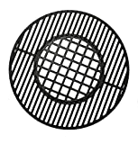 Votenli C883E Cast Iron Cooking Grid Grates Replacement for Weber 22.5 inches One-Touch Silver, Bar-B-Kettle, Master-Touch and One-Touch