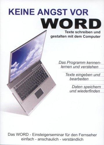 Keine Angst vor WORD - Die Microsoft WORD - Schulung - DVD