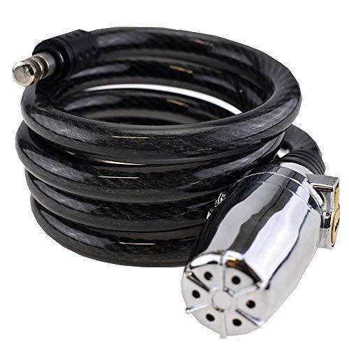Diebstahlsicherung Power Lock–Sicherheit verstärkte–Alarm 110Dezibel–80/2cm