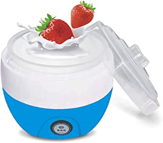 WGNHM Yogurt machine,Automatic Yogurt Maker Machine Customize To Your Flavor And Thickness Electric (Color : Blue)