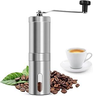 Lalia Händische Kaffeemühle Kaffeebohnen Nüsse Gewürze Getreide Mühle mit Edelstahlmesser 60g Fassungsvermögen
