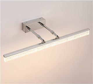 BMJ&C LED Mirror Front Light, Bathroom Mirror Cabinet Light Bathroom Mirror Cabinet Light Stainless Steel Makeup Lamp (Color : Warm light-8W/40cm)