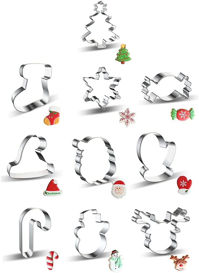 SANGHAI 1 year warranty Christmas Style Cookie Cutter Set Fon Our shop OFFers the best service and Dessert