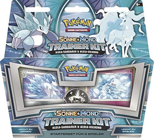 Unbekannt Pokemon Trainer Kit - Sonne und Mond - Alola-Sandamer & Alola-Vulnona - Deutsch