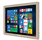 Samsung Galaxy TabPro S SM-W700NZDBXAR 12-Inch 8GB RAM, 256GB SSD WiFi 2-in-1 Tablet with Keyboard case (Gold)