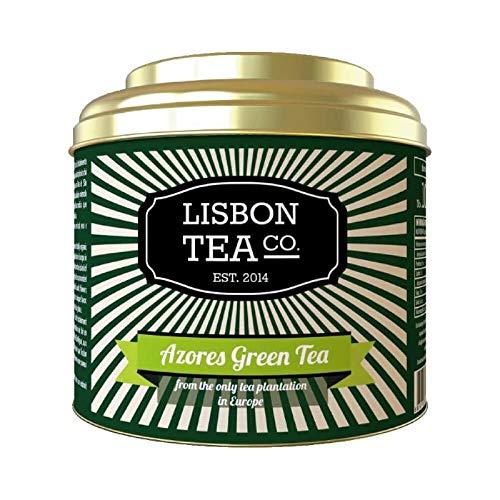 Lisbon Tea No. 10 Grüner Azoren Tee Cha Gorreana | milder Duft zart blumiges Aroma | organischer loser Blätter Tee
