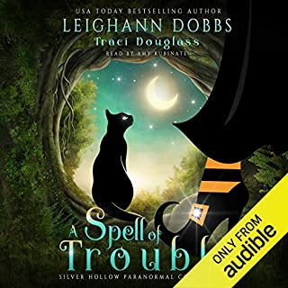 A Spell of Trouble audiobook cover art