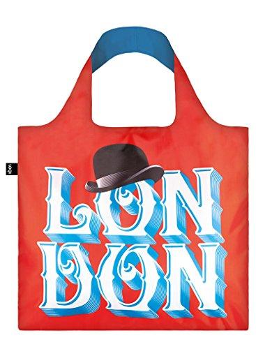 LOQI Alex TROCHUT London Bag- Bolsa de la Compra reutilisable