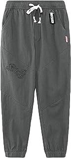 YoungSoul Pantalones Jogger Niños - Pantalon Largo Verano - Pantalón Cintura Elástica