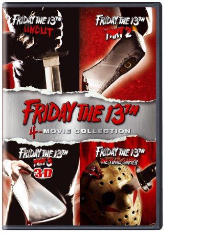Friday The 13Th 1-4 (4 Dvd) [Edizione: Stati Uniti]