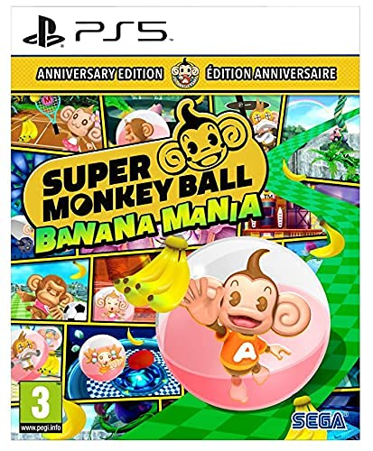 Super Monkey Ball Banana Mania Launch Edition Ps5 Esp