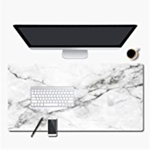 New 600 * 300mm Large Gaming Mouse Pad Marble Grain PU Leather Computer Notebook Mousepad Mat Desk Keyboard for Mice,2