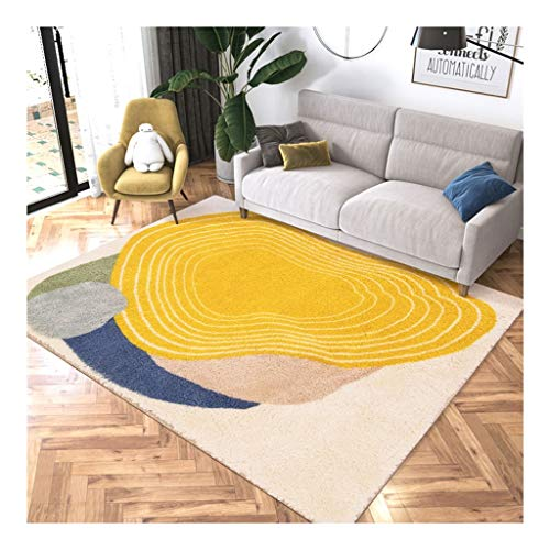 yaya tapijt moderne minimalistische rechthoekige tapijt comfortabel zacht lam kasjmier katoen hennep antislip tapijt slaapkamer woonkamer tapijten tapijt