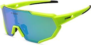 عینک آفتابی ورزشی Polarized X-TIGER با 3 لنز قابل تعویض ، عینک دوچرخه سواری مردانه زنانه ، عینک آفتابی راننده گلف ماهیگیری