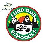 A/X 13cm x 13cm para financiar Nuestras escuelas, Vinilo para Coche,...
