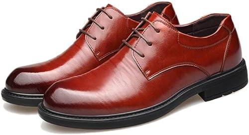 18668 Chaussures en Cuir pour Hommes, Chaussures Chaussures Chaussures pour Hommes, Printemps, Robe Britannique, Travail, Chaussures Coréennes 604