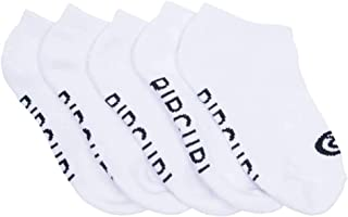 Rip Curl Kids TEEN DAILY SOCK-5PACK, White, 1SZ