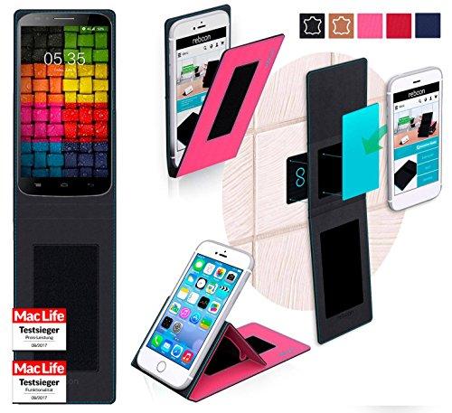 reboon Hülle für UMi Emax Tasche Cover Case Bumper   Pink   Testsieger