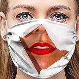 Sannysis Lustige Mundschutz Waschbar Baumwolle mit Motiv Bandana Multifunktionstuch für Herren Damen Mund und Nasenschutz Staubdicht Halstuch (B5)