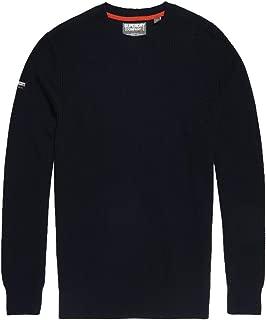 Superdry Men's Academy Crew Sweatshirt, Blue