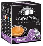 Bialetti Milano Espresso Capsules, 128 Count