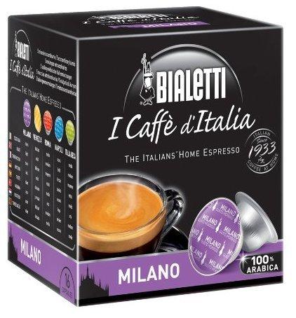 Bialetti Milano Espresso Kaffee Kapseln 128 Stück 8 Packungen