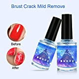 Gel Nail, 15Ml Nail Polish Burst Magic Makeup Remover Off Uv Led Nail Polish Cleanser, Rapid Burst Nail...