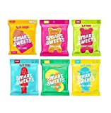 ONE OF EACH OF THE 6 FLAVORS OF THE SMART SWEETS PEACH RINGS SMART CHEWS BRAND NEW FLAVOR JUST CAME OUT APRIL 2020 Sweet Fish Sour Buddies , Fruity Bears and Sour Bears