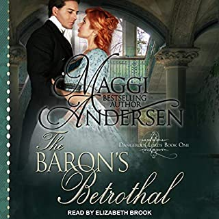The Baron's Betrothal audiobook cover art