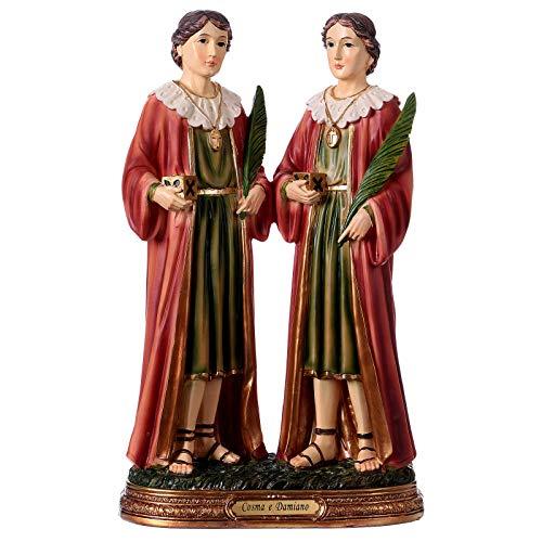 Holyart Santi Cosma e Damiano 30 cm Statua Resina