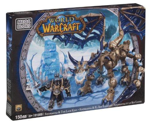 Mega Bloks 91008 World of Warcraft Arthas & Sindragosa, 150 Pezzi
