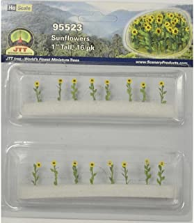 JTT Scenery Products Flowering Plants Series: Sunflowers, 1""